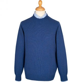 Cordings Hurricane Blue Crewneck Jumper  Main Image