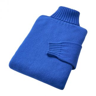 Cordings Bright Blue Geelong Roll Neck Jumper  Different Angle 1