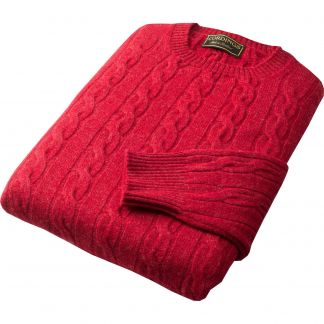 Cordings Berry Cable Crew Neck Different Angle 1