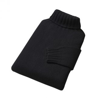 Cordings Black Submariner Roll Neck Jumper Different Angle 1