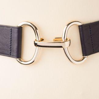 Cordings Black Leather Adjustable Belt Different Angle 1
