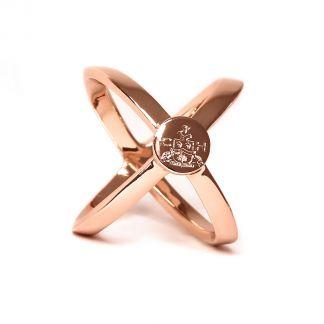 Cordings Rose Gold Scarf Ring Main Image