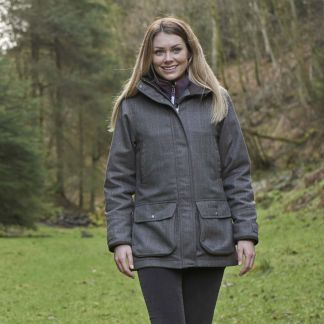 Cordings Schoffel Cavell Tweed Field Coat Different Angle 1