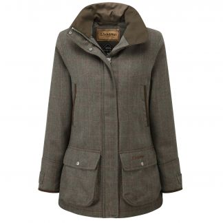 Cordings Schoffel Cavell Tweed Field Coat Main Image