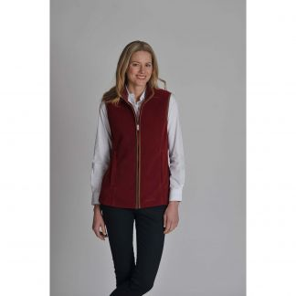 Cordings Ruby Schoffel Lyndon Fleece Gilet Different Angle 1
