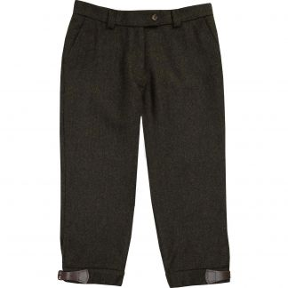 Cordings Green Grey Wetherby Tweed Breeks Main Image