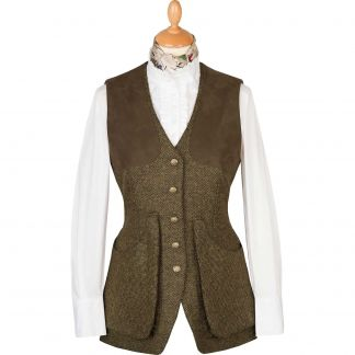Cordings T. Ba Tweed Shooting Vest Main Image