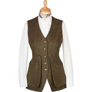 Cordings T. Ba Tweed Shooting Vest Main Image