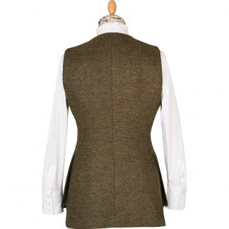 Cordings T. Ba Tweed Shooting Vest Different Angle 1