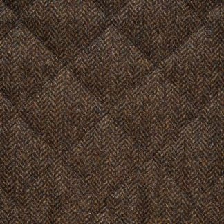 Cordings Herringbone Quilted Tweed Fieldcoat Different Angle 1