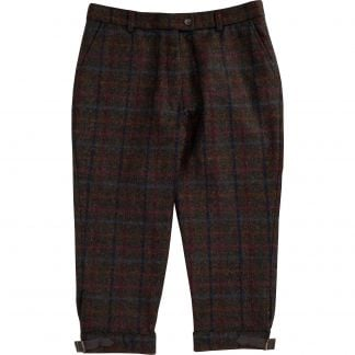 Cordings Plum Perthshire Tweed Breeks Main Image