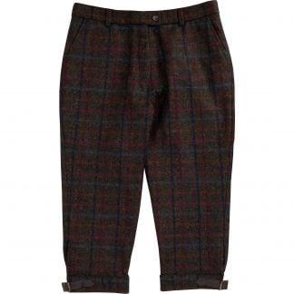 Cordings Plum Perthshire Tweed Breeks Main Image
