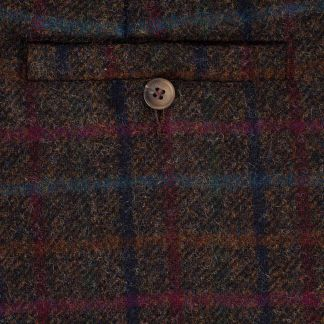 Cordings Plum Perthshire Tweed Breeks Different Angle 1