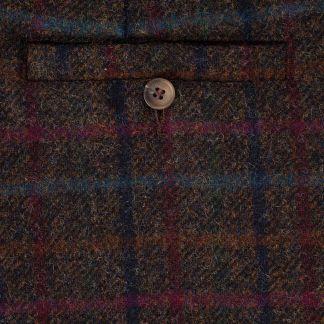 Cordings Plum Perthshire Tweed Breeks Different Angle 1