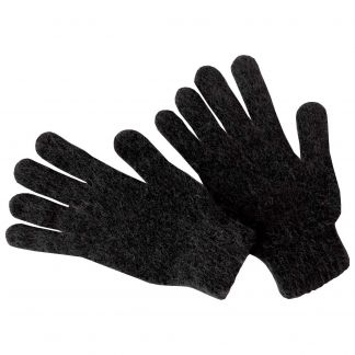 Cordings Charcoal Grey Possum Gloves Main Image