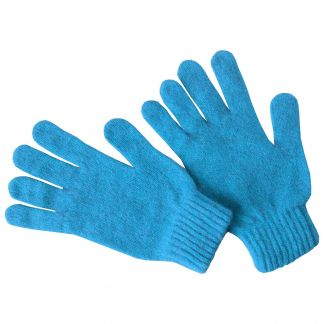 Cordings Turquoise Possum Gloves Main Image