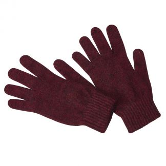 Cordings Wine Possum Gloves Main Image