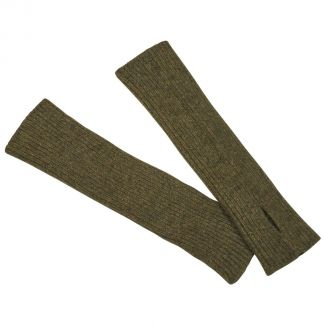 Cordings Olive Possum Arm Warmers Different Angle 1