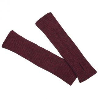 Cordings Wine Possum Arm Warmers Different Angle 1
