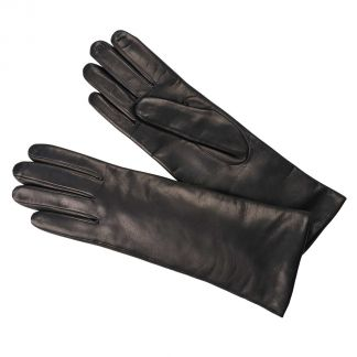 Cordings Black Nappa Leather Long Cuff Glove Main Image