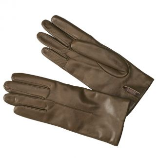 Cordings Loden Green Cashmere Lined Nappa Leather Gloves Main Image
