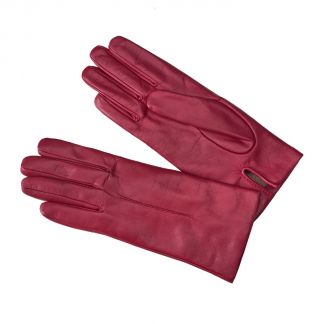 Cordings Pink Cashmere Lined Nappa Leather Gloves Main Image