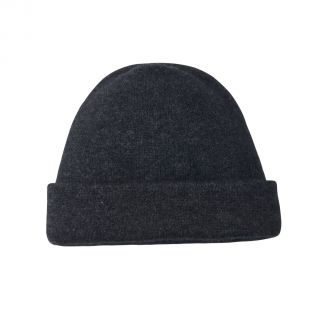 Cordings Charcoal Grey  Possum Beanie Hat Main Image