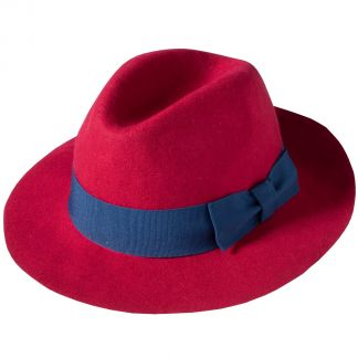Cordings Red Fedora Different Angle 1