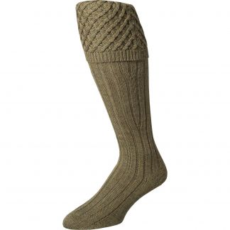 Cordings Olive Chelsea Shooting Stocking Main Image