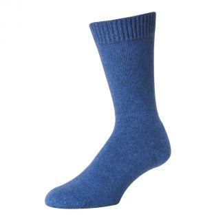 Cordings Blue Possum Merino Socks Main Image