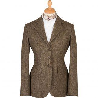 Cordings Forest Green T.ba Tweed Hacking Jacket Main Image