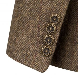 Cordings Forest Green T.ba Tweed Hacking Jacket Different Angle 1