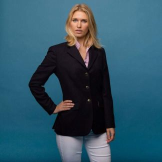 Cordings Navy Blazer with Double Vent  Different Angle 1