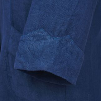 Cordings Navy Blue Linen Casual Blazer Different Angle 1