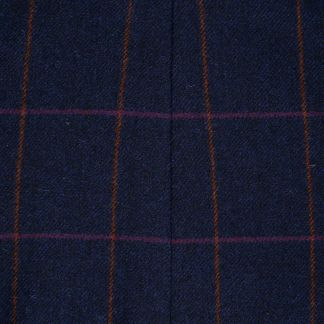Cordings Blue Cowley Tweed Neru Jacket Different Angle 1