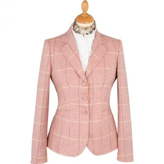 Cordings Pink Richmond Tweed Chelsea Jacket Main Image