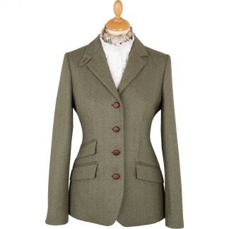 Cordings Green Ludlow Storm Tab Tweed Jacket Main Image