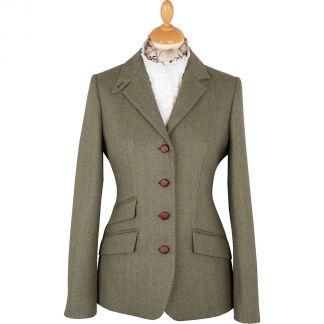 Cordings Green Ludlow Storm Tab Tweed Jacket Main Image