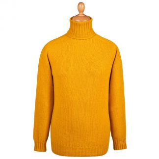 Cordings Gold Geelong Roll Neck Jumper  Main Image