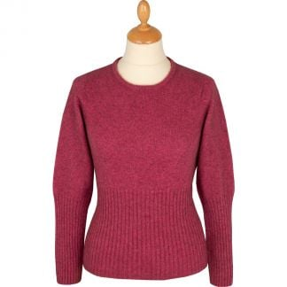 Cordings Pink Possum Merino Crew Neck  Main Image