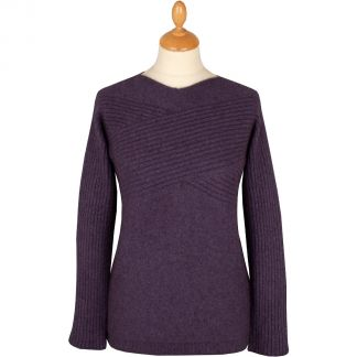 Cordings Plum Possum Cross Over Jumper Different Angle 1
