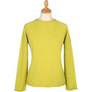 Cordings Lime Geelong Crew Neck Main Image