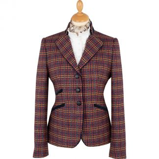 Cordings Frimley Tweed Nehru Jacket  Main Image