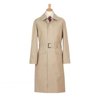 Cordings Fawn Hampton Mackintosh Raincoat Main Image