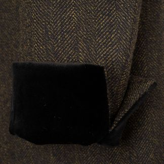 Cordings Black TBa Medallion Tweed Coat  Different Angle 1