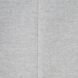 Cordings Blue Herringbone Tweed Hurdler Bag Different Angle 1