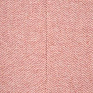 Cordings Pale Pink Round Collar Herringbone Coat Different Angle 1