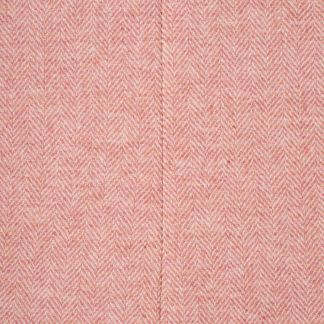 Cordings Pink Herringbone Tweed Tote Bag Different Angle 1