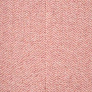 Cordings Pink Herringbone Tweed Tote Bag Different Angle 1