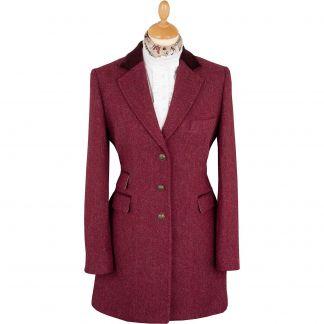 Cordings Roxby Harris Tweed Classic Coat Main Image